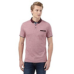 Red Herring - Red dotted polo shirt