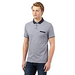 Red Herring - Blue dotted polo shirt