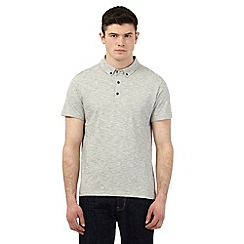 Red Herring - Off white striped print polo shirt