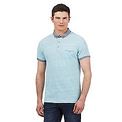 Red Herring - Turquoise striped trim polo shirt