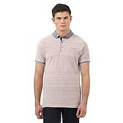 Red Herring - Red striped trims polo shirt