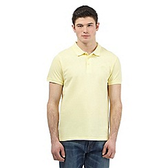 Red Herring - Yellow blue pique logo polo shirt
