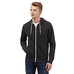 Red Herring - Dark grey zip through hoodie