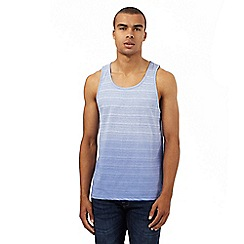 Red Herring - Blue dip dye vest