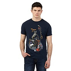 Red Herring - Navy party animal print t-shirt