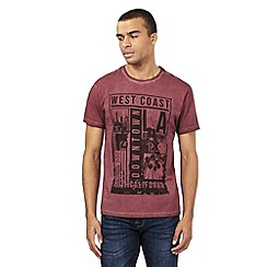 Red Herring - Red West Coast print t-shirt