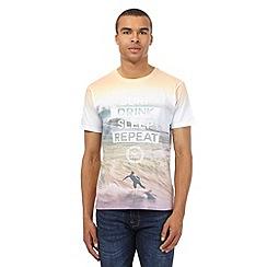 Red Herring - Multi-coloured 'Surf Drink Sleep Repeat' printed shirt