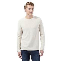 Red Herring - Cream crew neck jumper