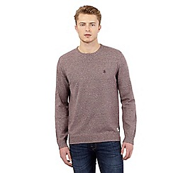 St George by Duffer - Red logo crew neck jumper