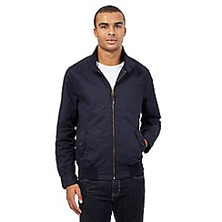 Red Herring - Big and tall navy harrington jacket