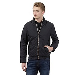 Red Herring - Black contrasting zip jacket