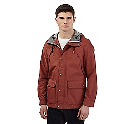 Red Herring - Dark red hiking jacket