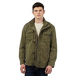 St George by Duffer - Khaki shirt jacket