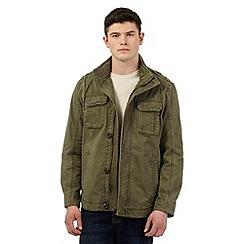 St George by Duffer - Khaki shirt jacket