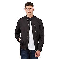 Red Herring - Dark grey Harrington biker jacket
