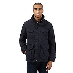 St George by Duffer - Navy mock 2-in-1 coat