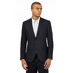 Red Herring - Navy herringbone blazer