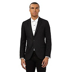 Red Herring - Black fleck wool blend blazer