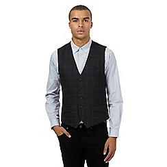 Red Herring - Grey check waistcoat