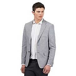 Red Herring - Big and tall grey check print blazer