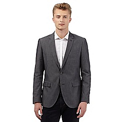Red Herring - Dark grey chambray blazer