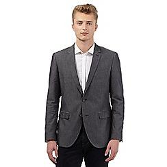 Red Herring - Dark grey chambray blazer