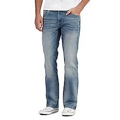 Red Herring - Light blue vintage wash bootcut jeans