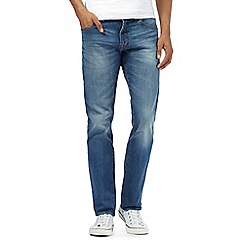 Red Herring - Big and tall light blue light wash jeans