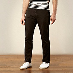 Red Herring - Black slim fit chinos