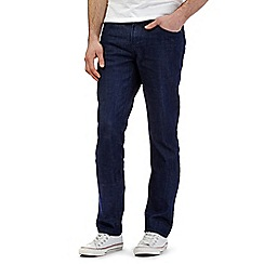 Red Herring - Dark blue rinse wash slim fit jeans