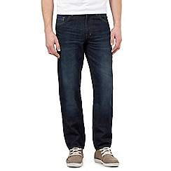 Red Herring - Blue mid wash straight jeans
