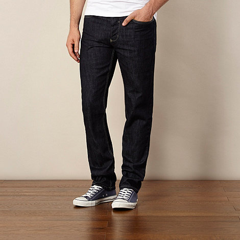 Red Herring - Big and tall dark blue straight leg jeans