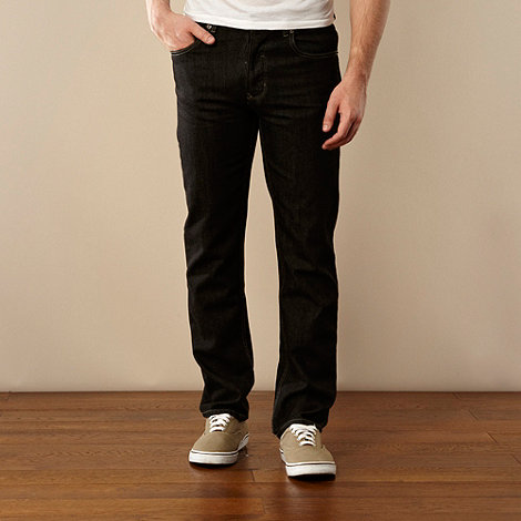Red Herring - Black straight leg jeans