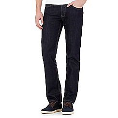 Red Herring - Big and tall dark blue rinse slim fit jeans