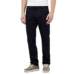 Red Herring - Dark blue rinse wash straight jeans