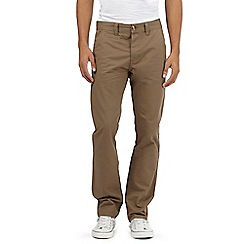 Red Herring - Brown slim chinos
