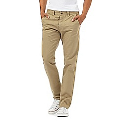 Red Herring - Beige slim chinos