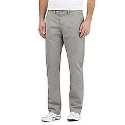 Red Herring - light grey straight chinos