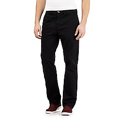Red Herring - Black chino trousers