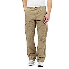 Red Herring - Beige cargo trousers