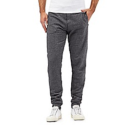 Red Herring - Dark grey ribbed jogging bottoms