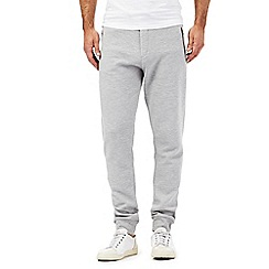 Red Herring - Grey ribbed jogging bottoms