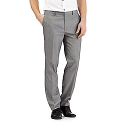 Red Herring - Grey textured smart trousers