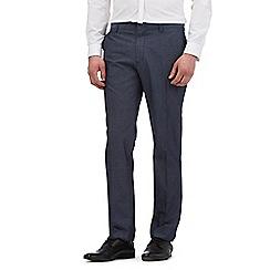 Red Herring - Navy smart pin dot trousers