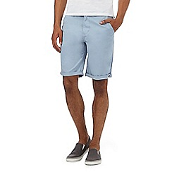 Red Herring - Pale blue chino shorts