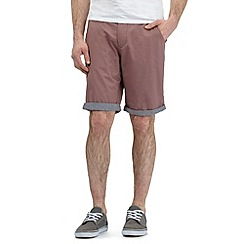 Red Herring - Big and tall red chino shorts