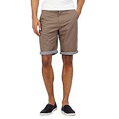 Red Herring - Brown chino shorts