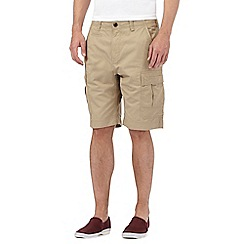 Red Herring - Beige cargo shorts