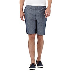 Red Herring - Blue linen blend shorts