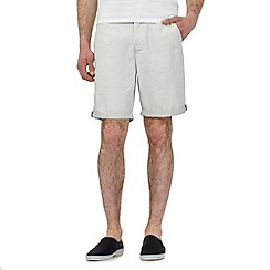 Red Herring - Cream pindot chino shorts